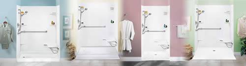 Mustee Easy Access Showers
